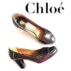 Chloé shoes made in Italy size 38 1/2